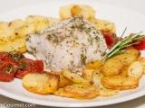 Baked Cod, Potatoes, and Tomatoes (Merluzzo, Patate e Pomodori alForno)